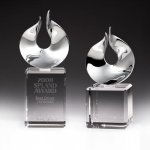 Solid Flame Crystal Award Achievement Awards