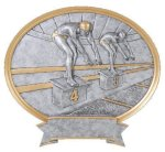 Legend Oval Award -Swimming Swimming Trophy Awards