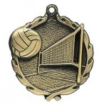 Wreath Medal -Volleyball Volleyball Trophy Awards